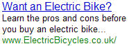 Electric Bike - ElectricBicycles.co.uk