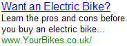 Electric Bike - YourBikes.co.uk